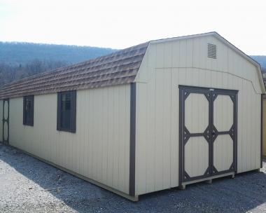 14x36 Gambrel Storage Barn at the Hegins (Spring Glen), PA Pine Creek Structures store